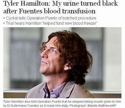 """Scandalul de dopaj care va intra în istorie. """"Urina ajunsese să fie NEAGRĂ. Aveam sângele altor oameni la mine în corp"""""""