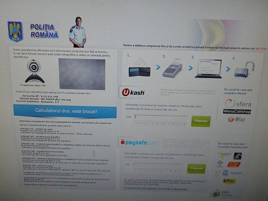 """Aveţi mare atenţie ce mailuri primiţi. Un VIRUS periculos v-ar putea distruge calculatorul. E venit """"din partea"""" Poliţiei Române"""