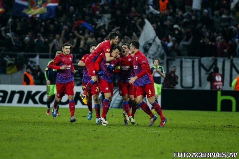 Steaua s-a calificat în optimile Europa League, după ce a învins Ajax la penalty-uri