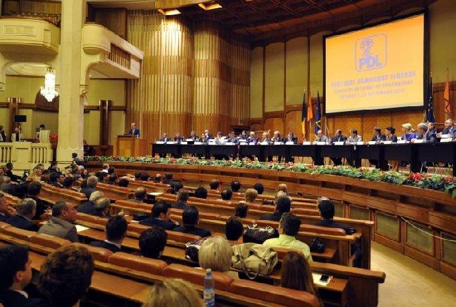 Democrat-liberalii se reunesc în Consiliul Naţional de Coordonare, la Palatul Parlamentului