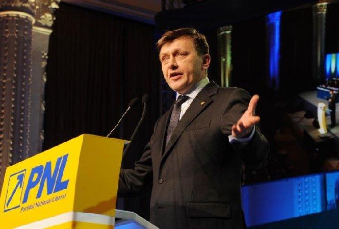 Lista celor 31 de vicepreşedinţi propuşi de Crin Antonescu pentru conducerea PNL
