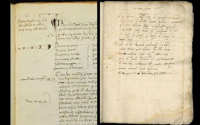Document ISTORIC, vechi de peste 500 de ani, descoperit de un profesor britanic
