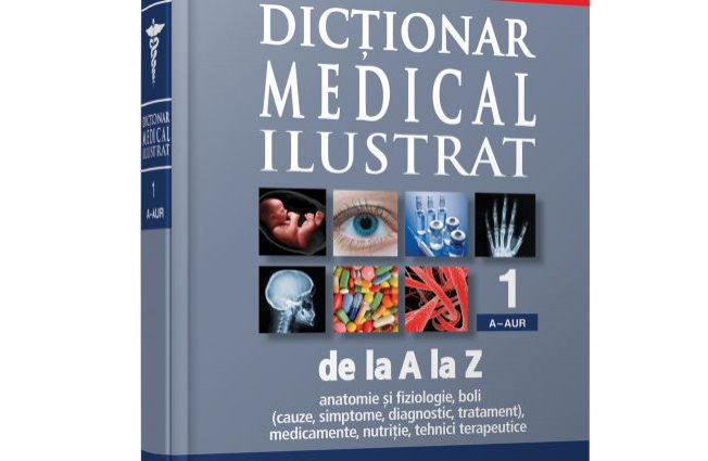 Din 25 februarie, Jurnalul Naţional va aduce: Dictionarul medical Ilustrat