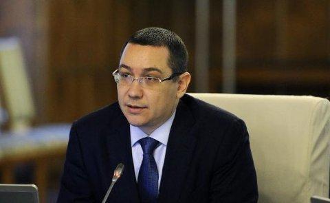 Ponta: Voi circula doar cu maşini fabricate în România şi-i voi convinge şi pe miniştri să o facă