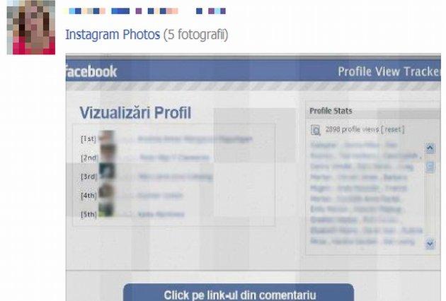 """""""Vezi cine ţi-a vizitat profilul de Facebook"""". Aplicaţia MINCINOASĂ care îţi poate fura datele personale"""