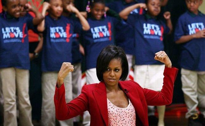 Dansul lui Michelle Obama face furori pe net. Vezi cum se mişcă prima doamnă a Americii
