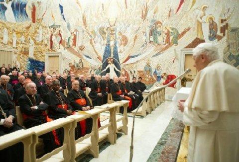 """Papa Benedict al XVI-lea va avea titlul de """"Papă emerit"""" sau """"Pontif roman emerit"""", după demisie"""