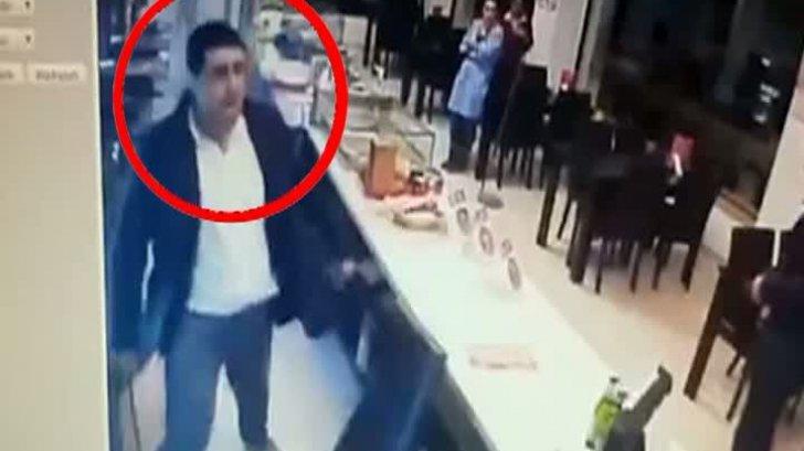 Angajaţii unei shaormerii din Constanţa, atacaţi cu un cuţit de jumătate de metru de un interlop înfometat