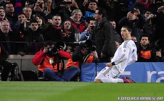 Real Madrid a câştigat cu 3-1 pe Camp Nou şi s-a calificat în finala Cupei Regelui