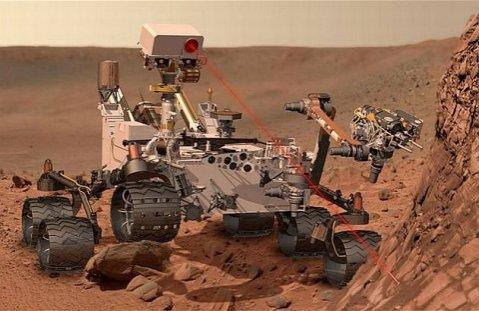 Robotul Curiosity a fost pus în aşteptare din motiv de pană la computer