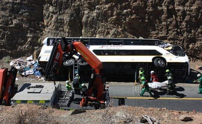 Africa de Sud. 24 de oameni au murit într-un grav accident de circulaţie