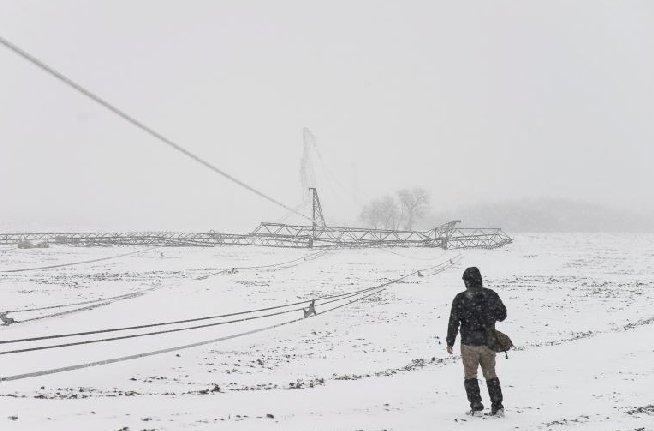 Aproximativ 60.000 de gospodării din Ungaria au rămas fără curent, în urma ninsorilor