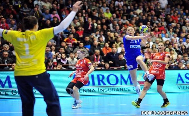 Oltchim va juca cu ETO Gyor în semifinalele Ligii Campionilor