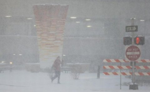 Vreme rea şi în Statele Unite. Mai multe zone, cuprinse de viscol şi zăpadă
