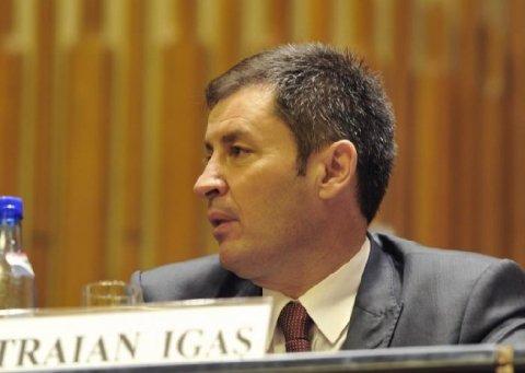Traian Igaş ar putea candida pentru o funcţie de vicepreşedinte regional al PDL