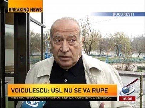 Dan Voiculescu neagă că ar fi discutat cu Crin Antonescu pe tema procurorilor