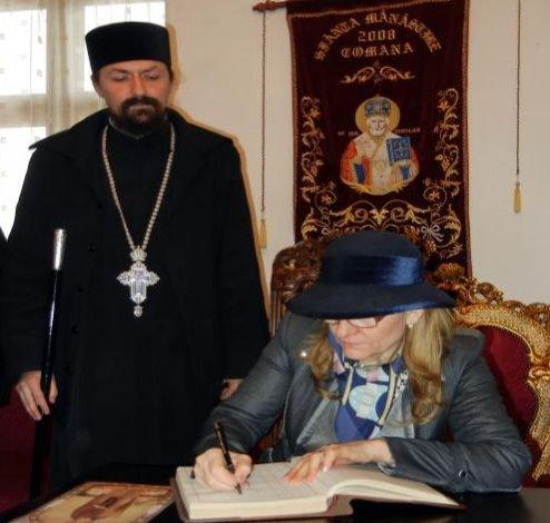 Ministrul Turismului promite fonduri pentru restaurarea mănăstirii Comana