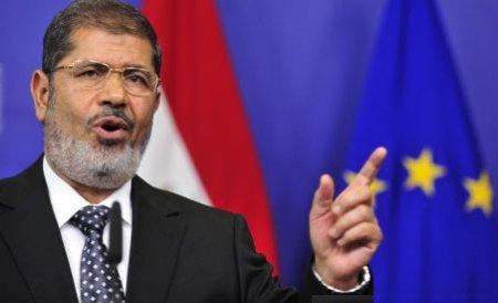 Preşedintele egiptean Mohamed Morsi, suspectat de defăimarea serviciilor de informaţii