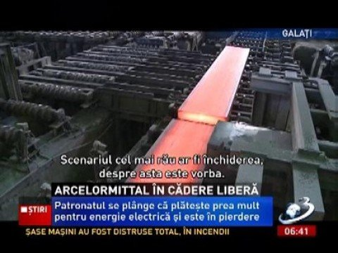 arcelor mittal a take over