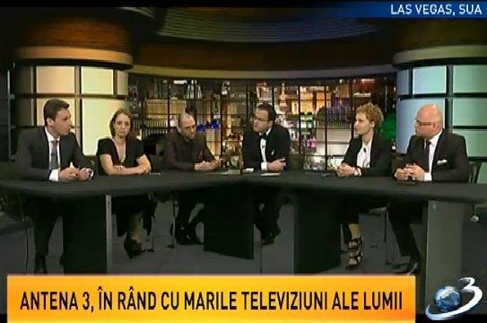 Oreste: Ai noştri nu s-au bătut aşa, de unii singuri, ca alte posturi de televiziune. Antena 3 are locul ei în lume