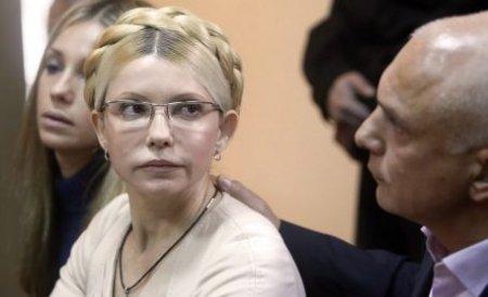 Mii de oameni au manifestat în Ucraina cerând eliberarea Iuliei Timoşenko