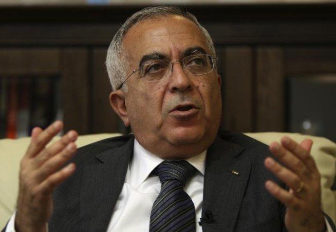 Premierul palestinian şi-a prezentat demisia sâmbătă seară