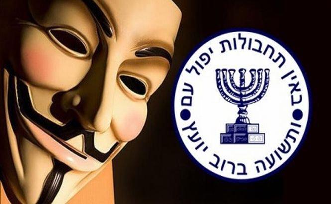 Anonymous a demascat 123 de spioni israelieni