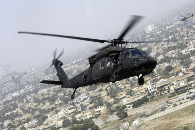 Un elicopter al armatei SUA s-a prăbuşit în apropierea frontierei dintre cele două Corei
