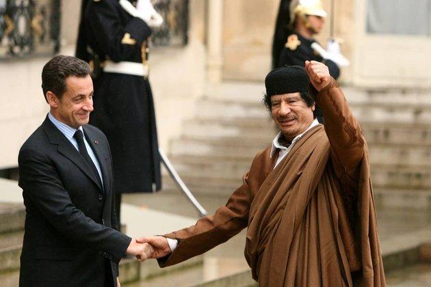 Gaddafi, finanţatorul din umbră al campaniei lui Sarkozy. O anchetă judiciară a fost deschisă în Franţa
