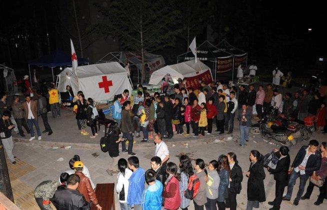 Bilanţul cutremurului din China: 179 de morţi şi peste 10.000 de răniţi