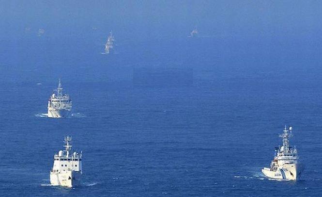 Tensiunile cresc. Ambasadorul chinez, convocat de Japonia, după ce opt nave guvernamentale au pătruns în apele nipone