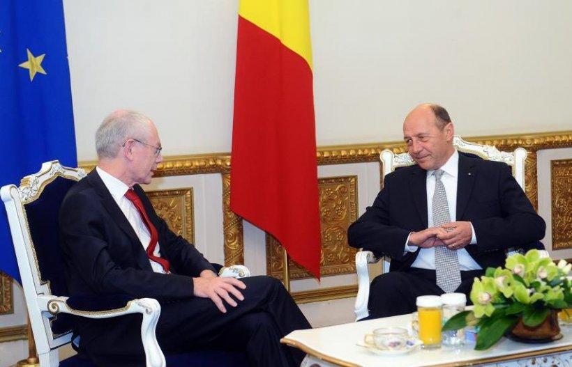 Băsescu: Ieşim din procedura de deficit excesiv. România nu are nevoie să stea cu mâna întinsă nicăieri
