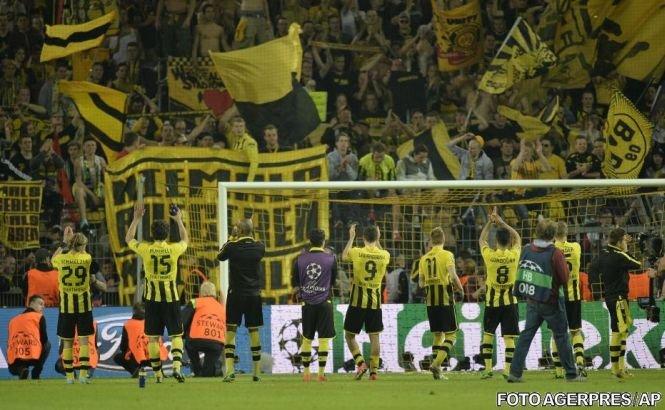 Borussia Dortmund a învins-o cu 4-1 pe Real Madrid, în a doua semifinală a Ligii Campionilor