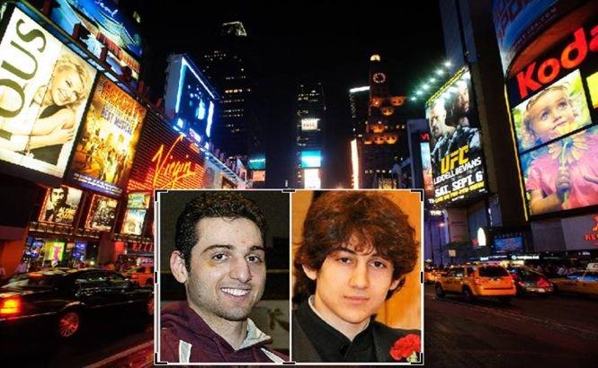 Următoarea ŢINTĂ a fraţilor Tsarnaev era Times Square din New York
