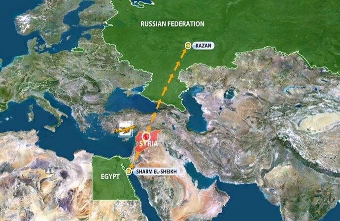 Avion cu 159 de pasageri la bord, ATACAT CU RACHETE. Rusia interzice zborurile civile în spaţiul aerian al Siriei
