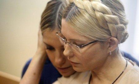 """Iulia Timoşenko se declară """"fericită"""" după decizia CEDO"""