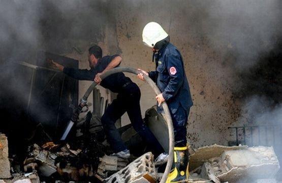 Atac cu RACHETE la aeroportul din Damasc. Un avion comercial a fost LOVIT