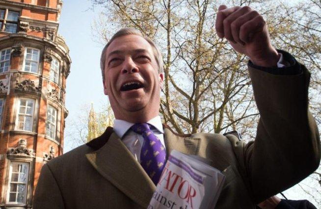 """Partidul antieuropean UKIP obţine un scor """"istoric"""" în alegerile locale din Marea Britanie"""
