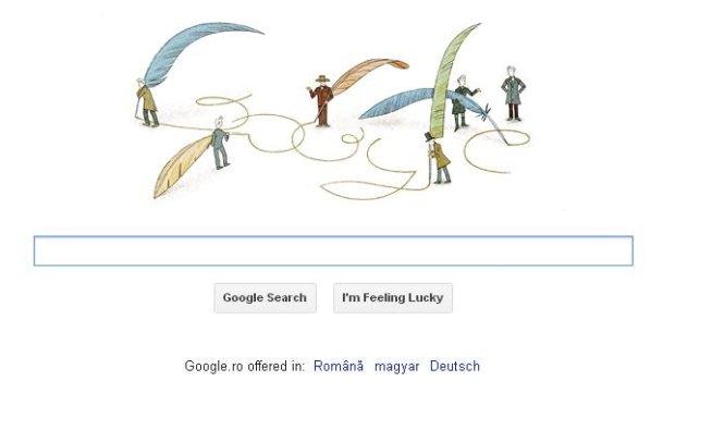Google şi-a modificat logoul pentru a sărbători 200 de ani de la naşterea filosofului Soren Kierkegaard