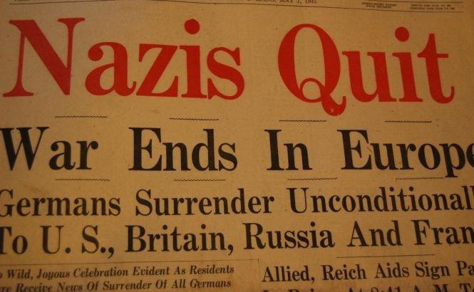 9 mai: Europa marchează sfârşitul celui de-al Doilea Război Mondial