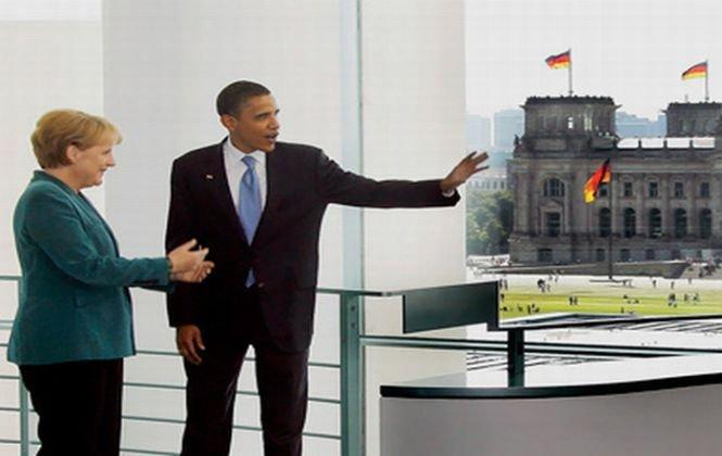 Obama va vizita Germania, la 50 de ani după JF Kennedy