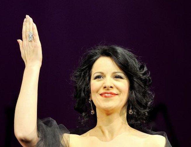 Angela Gheorghiu, ovaţionată minute în şir la concertul de la Royal Festival Hall din Londra