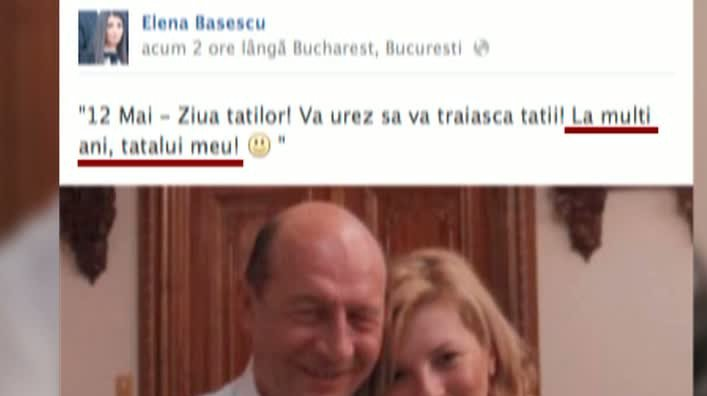 Elena Băsescu şi limba română: La mulţi ani, tatălui meu!