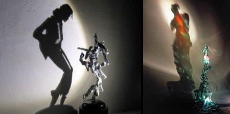 Ăsta da talent! Sculpturile din umbre ale lui Diet Wiegman