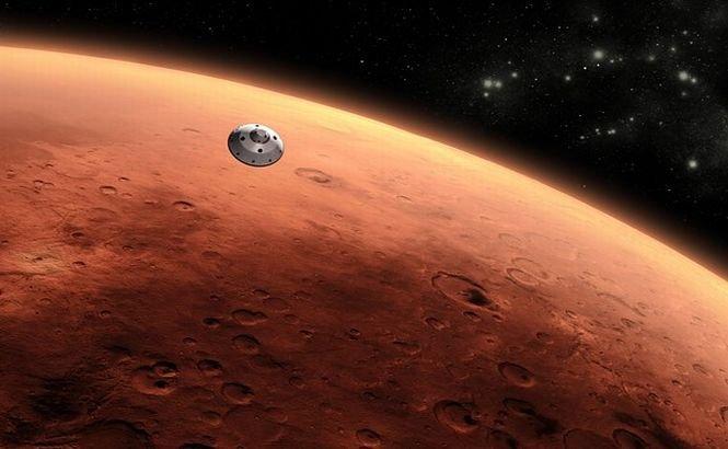 """Marte este """"bombardată"""" anual de 200 de asteroizi"""