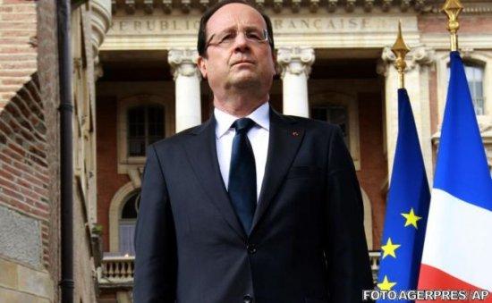 """Francois Hollande consideră că interesul Moscovei în Siria este de a """"termina cu Assad"""""""