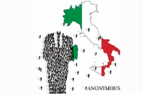 """Membrii """"Anonymous"""" Italia, VÂNAŢI de forţele de ordine în întreaga Peninsulă"""