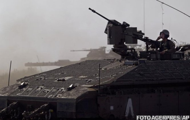 Focuri de armă din Siria au atins sectorul Platoului Golan, ocupat de Israel
