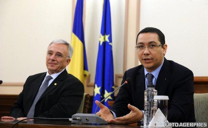 Mugur Isărescu şi Victor Ponta, în topul încrederii românilor