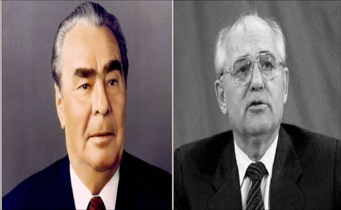 Brejnev, cel mai iubit rus din secolul trecut, Gorbaciov, cel mai hulit